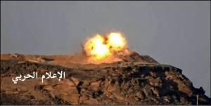 تدمير-دبابة-في-نجران-1